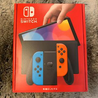 ニンテンドースイッチ(Nintendo Switch)の新品未開封 Nintendo Switch 有機EL ネオン スイッチ (家庭用ゲーム機本体)