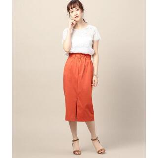 ビューティアンドユースユナイテッドアローズ(BEAUTY&YOUTH UNITED ARROWS)のオレンジ スカート(ひざ丈スカート)