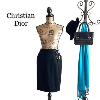 Christian Dior - Christian Dior クリスチャンディオール スカート ブラック