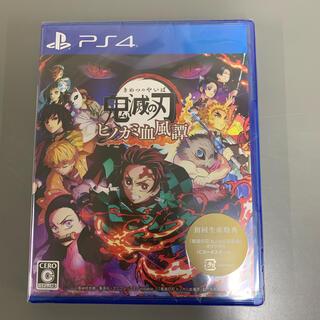 PlayStation4 - 新品未開封 鬼滅の刃 ヒノカミ血風譚 PS4