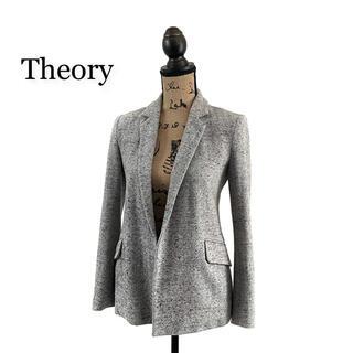 theory - Theory セオリー ジャケット グレー レディース テーラードジャケット