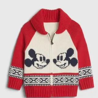 ベビーギャップ(babyGAP)のDisney Mickey Mouse セーター(ニット)