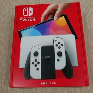Nintendo Switch - 新品未開封品Nintendo Switch 有機ELモデルホワイト