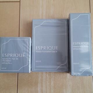 ESPRIQUE - エスプリーク シンクロフィットパクト&エッセンスグロウプライマー