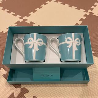 Tiffany & Co. - ティファニー マグカップ リボン