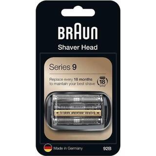 ブラウン(BRAUN)の92B ブラウン シェーバー シリーズ9 替刃 ブラック(メンズシェーバー)