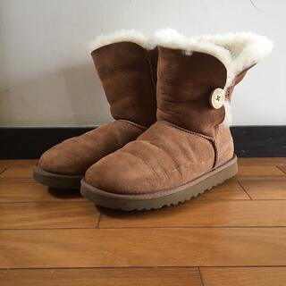 アグ(UGG)のugg australia アグ オーストラリア ムートン ブーツ 25cm(その他)
