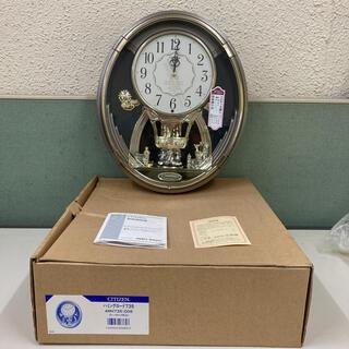 CITIZEN - 新品 CITIZEN からくり時計 ハミングロード 掛時計 シチズン