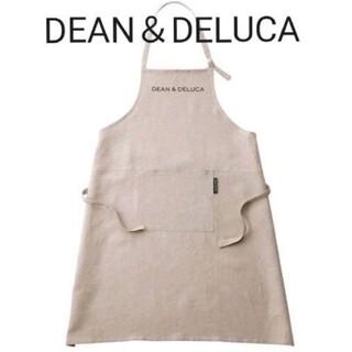 DEAN & DELUCA - ◇新品◇DEAN&DELUCA リネンフルエプロン 麻 ディーンアンドデルーカ