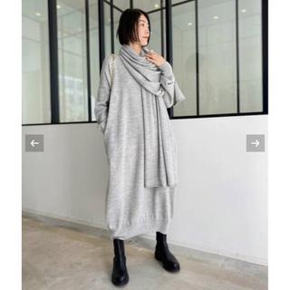 L'Appartement DEUXIEME CLASSE - ローレン マヌージアンWIDE V NECK DRESS