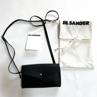 Jil Sander - ジルサンダー ショルダーバッグ ミニバッグ 新品 黒 ブラック 本革