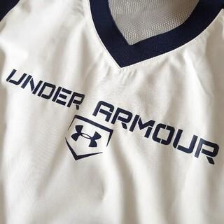 アンダーアーマー(UNDER ARMOUR)の美品アンダーアーマー*YLG150*野球*ピステ*ウインド*ブレーカー*上(ウェア)