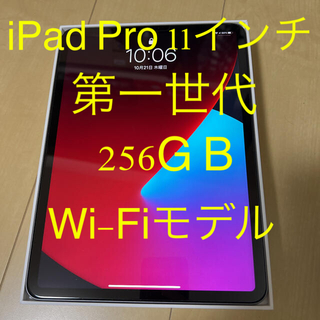 Apple - iPad Pro (第1世代) 11インチ 256GB Wi-Fiモデル