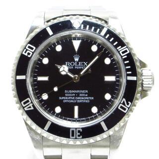 ROLEX - ロレックス 腕時計 サブマリーナ 14060M 黒