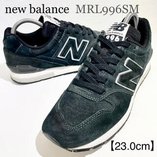 New Balance - new balance/ニューバランス★MRL996SM★ブラック/黒★23.0
