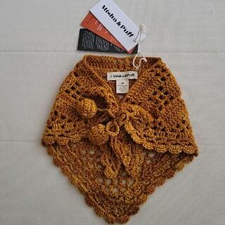 Caramel baby&child  - misha and puff/Crochet Kerchief