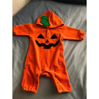 ハロウィン かぼちゃ ロンパース
