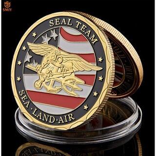 アメリカ 海軍 チャレンジコイン レプリカ シールチーム ネイビーシールズ(その他)