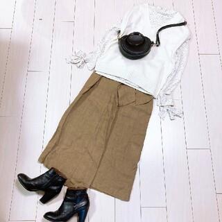 プラージュ(Plage)の大人可愛いベストコーデ♡ミラオーウェンブラウスプラージュスカート(ロングスカート)