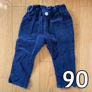 エフオーキッズ(F.O.KIDS)のアプレレクール コーデュロイ パンツ ネイビー 90cm(パンツ/スパッツ)