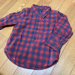 ベビーギャップ(babyGAP)のbabyGap チェックシャツ(ブラウス)