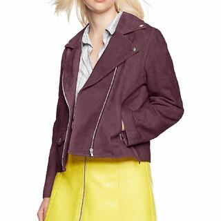 ミラオーウェン(Mila Owen)の新品未使用完売♡ミラオーウェン♡レザーライダースジャケット♡ブルゾン(ライダースジャケット)