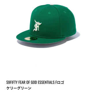 FEAR OF GOD - New Era Fear of God ESSENTIALS CAP 7 5/8