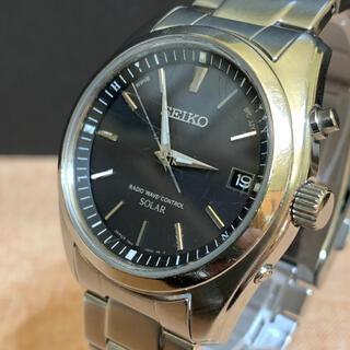 SEIKO - SEIKO セイコー 腕時計 電波時計 solar メンズ 00005
