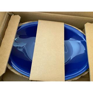 タチキチ(たち吉)のたち吉 あいあいカレー皿 瑠璃色 2枚(食器)
