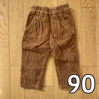 エフオーキッズ(F.O.KIDS)のアプレレクール ブラウン パンツ 90cm(パンツ/スパッツ)