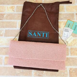 サンティ(SANTI)の未使用 SANTI サンティ ☆ ビーズ パーティーバッグ トゥモローランド(クラッチバッグ)