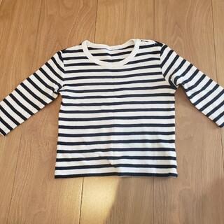 ユニクロ(UNIQLO)のユニクロ コットンTシャツ  80(シャツ/カットソー)