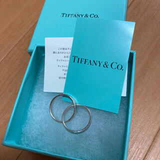 Tiffany & Co. - ティファニー 2連リング