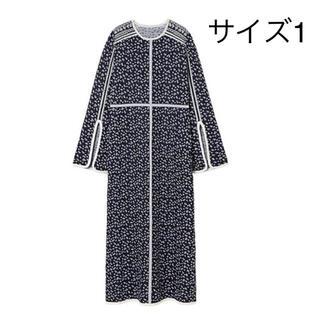 マメ(mame)の新品 21FW mame kurogouchi マメクロゴウチ 金木犀ワンピース(ロングワンピース/マキシワンピース)