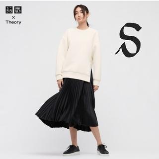UNIQLO - 新品 UNIQLO ✕ theory コラボ プリーツラップスカート Sサイズ
