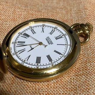 ALBA - ALBA SUCCES  懐中時計00202   ハンタータイプ 稼働品