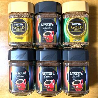 Nestle - ネスカフェ ゴールドブレンド2(レギュラー1・香り華やぐ1)エクセラ4 詰合せ
