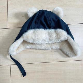 エイチアンドエム(H&M)のh&m ファー くま耳 帽子(帽子)