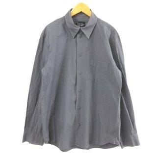 ナンバーナイン(NUMBER (N)INE)のナンバーナイン シャツ 長袖 コットン F07-NS005 チャコールグレー(シャツ)