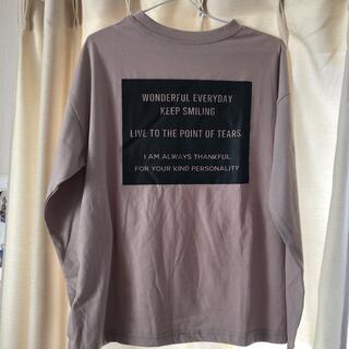 グレイル(GRL)のGRL長袖Tシャツ(Tシャツ/カットソー(七分/長袖))