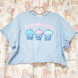 サンリオ(サンリオ)のゴロピカドントップス(Tシャツ(半袖/袖なし))