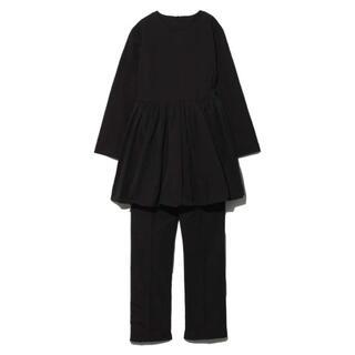 Mila Owen - タグ付き新品★ミラオーウェンのバルーンセットアップ★0サイズ★ブラック色★完売色