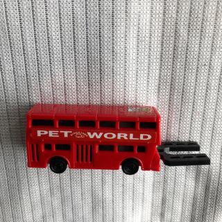 トミー(TOMMY)のTOMY ペットワールド 走る二階建てバス 赤いロンドンバス(ミニカー)