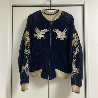 50s vintage スーベニアジャケット スカジャン