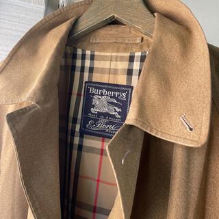 BURBERRY - 【希少品】60s vintage Burberry coat 茶杢綿