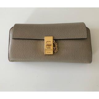 クロエ(Chloe)のクロエ ドリュー長財布(財布)