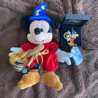 ミッキーマウス(ミッキーマウス)のディズニー ミッキー キーチェーン ぬいぐるみ(キャラクターグッズ)
