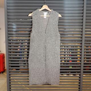 DOUBLE STANDARD CLOTHING - 美品 ダブルスタンダード ダブスタ ベスト ジレ グレー アルパカ 36