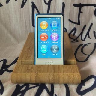アップル iPod nano 第7世代 MKN02 ブルー 青 16G ユーズド