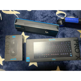 Logicool Pro X ロジクール マウス キーボード パッドセット